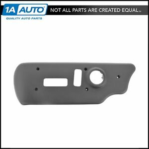 Oem 88941680 Power Seat Switch Bezel Front Driver Side Charcoal For Chevy Gmc