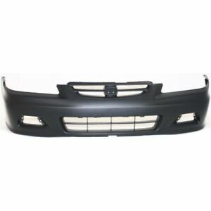 C Front Bumper Cover For 2001 2002 Honda Accord Coupe Ho1000195