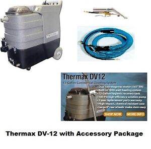 Thermax Dv 12 W Accessory Package Free Shipping Carpet Cleaning auto Detail