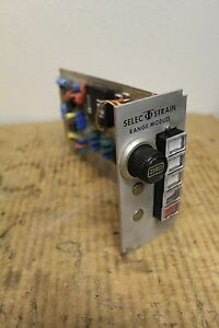 Tinius Olsen Select Strain Range Module Amplifier Board 3001 0980 30010980