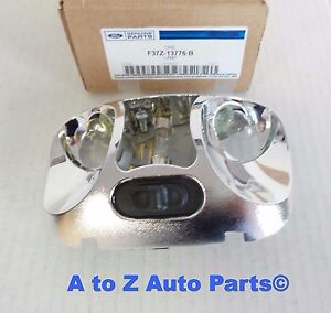 New 1993 2004 Ford Ranger Super Cab Interior Dome Light dual Lamp Housing oem