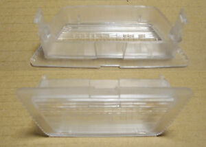 Opel Vauxhall Astra G 1998 2005 Rear Number Plate Light Glass New