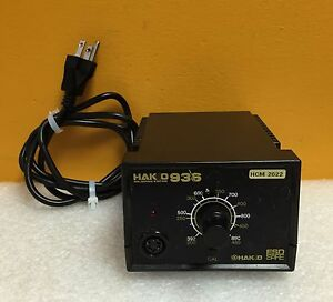 Hakko 936 12 392 To 896 f 65 Watt 120v 60 Hz Soldering Station Control Unit