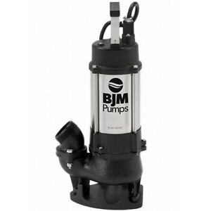 Bjm Electric Vortex Submersible Trash Pump Bjm Industrial 2
