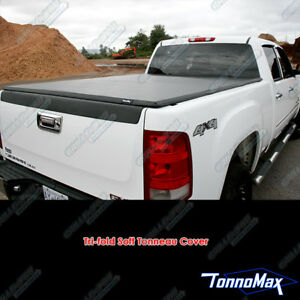 Toyota Tacoma Xtra 5 With Utility Track 2005 2015 Tonnomax Tri Fold Bed Cover