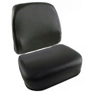 New Black Vinyl Cushion Set For Massey Ferguson 1085 1105 1135 1155 1505 1805