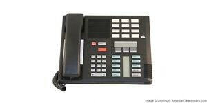 Refurbished Nortel Meridian Norstar M7310 Business Phone Nt8b20 Black 7310