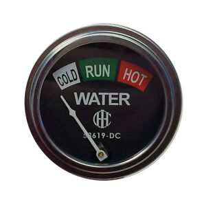 53619dc Water Temperature Gauge 19 Lead For Case ih Tractor Models A Av B