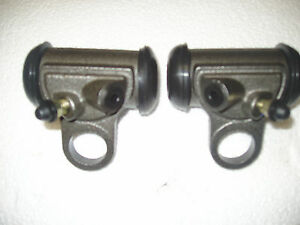1960 60 Edsel Ranger Villager Front Wheel Cylinders New Pair
