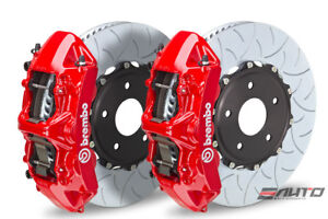 Brembo Front Gt Brake Bbk 6 Piston Red Caliper 380x34 Type3 Disc Audi S3 15