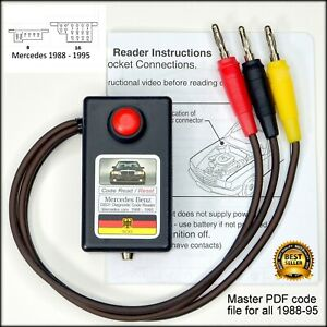 Mercedes Obd1 Diagnostic Code Reader For Cars With The 8 Or 16 Port