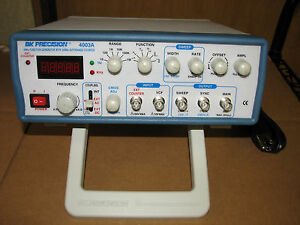 Bk Precision 4003a 4 Mhz Function Generator Working With Warranty