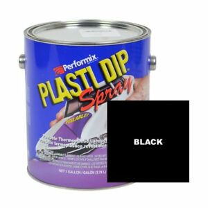 Performix Plasti Dip 10103s Black Gallon Rubber Spray