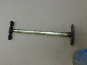 Antique Car Brass Tire Pump