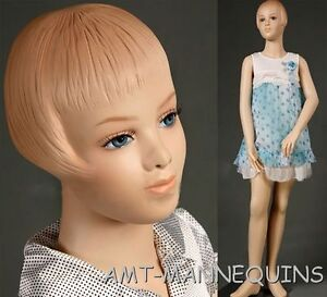 Child Mannequin Kid Manikin About 9 10 Years Old Hgt 55 Girl Mannequin Pet