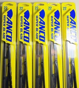 92 2011 Crown Victoria Marquis Town Car Anco Lot Of 10 Pc 22inch Wiper Blade New