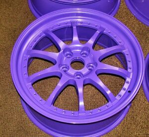 High Gloss Purple Powder Coat Powder Coating Paint New 5 Lbs Free Shipping