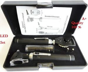 F o Opthalmoscope ophthalmoscope otoscope Ent Diagnostic Set led ce