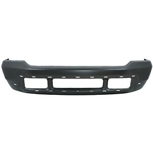 Front Bumper For 02 04 Ford F 250 Super Duty Painted Gray W Pad