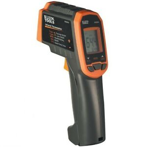 Klein Tool 12 1 Dual Laser Infrared Thermometer With Case