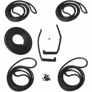 1959 1960 Oldsmobile 98 Ninety Eight 4dr Sedan Body Weatherstrip Seal Kit