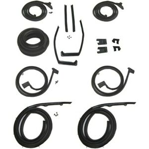 1959 1960 Chevrolet Oldsmobile Pontiac 4dr Hardtop Body Weatherstrip Seal Kit