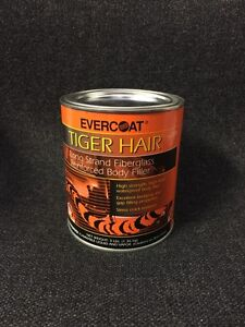 Evercoat 1189 Tiger Hair Long Strand Fiber Reinforced Filler Quart