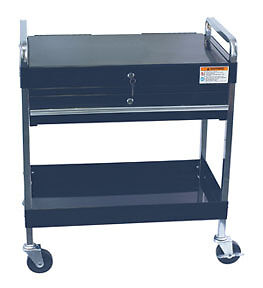 Sunex Tools 8013abk Service Cart With Locking Top And Drawer Black