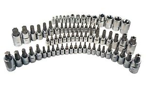 Atd Tools 13772 72 Pc Master Star Bit Socket Set