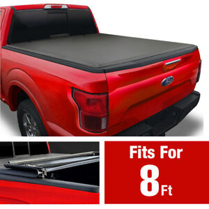 2009 2014 Ford F 150 8ft Bed Premium Tri fold Tonneau Cover excl raptor