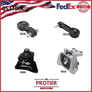 Engine Motor Trans Mount Set 2006 2010 Honda Civic 1 8l For Auto Trans