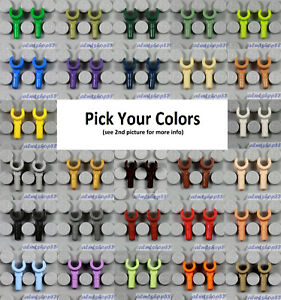 LEGO Minifigure Hands PICK YOUR COLORS Body Parts Lot Replacement Arms Town $1.99