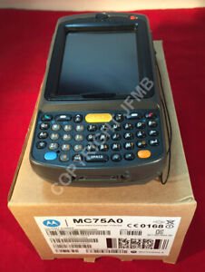 New Symbol Mc75a Mc75 Motorola Barcode Scanner Windows Mobile Embedded 6 5 Gps