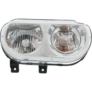 Headlight For 2008 2012 2013 2014 Dodge Challenger Right With Bulb