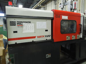 2000 Cincinnati Vista V 120 Plastic Injection Molding Machine