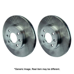 Rk Front Brake Disc Rotor Set For 1991 95 Plymouth Grand Voyager 5 Lug 14 5329