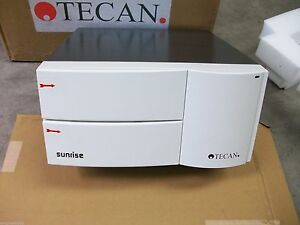 New Tecan Sunrise Microplate Reader Remote Elisa Assay Absorbance 96 Plates