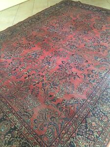 Antique Sarouk Oriental Rug