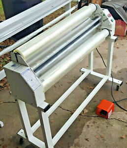 Varitronics Profinish Xl 4200 Cold Laminator electric foot Pedal 38 Rolls Incl