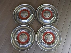 4 14 1957 58 Olds Oldsmobile Hubcaps
