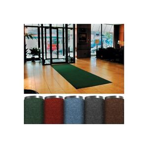 economy Vinyl Carpet Mats 3 X 5 Charcoal 1 each