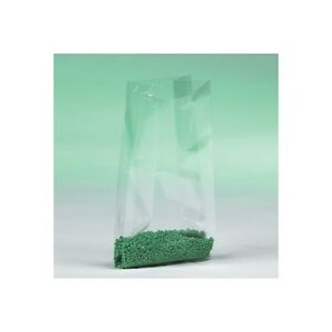 gusseted 1 Mil Poly Bags 12 x8 x24 Clear 500 case