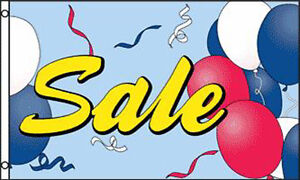 Sale Balloons 3 X 5 Flag 427 Advertize Retail Banner Sign Balloon 5x3 Sales New