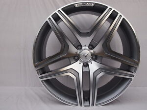 22 Amg Style Rims Wheels 5x130 Fits Mercedes G Wagon G550 G500 G63 G55