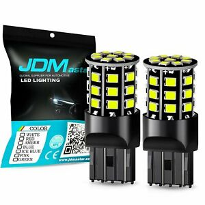 Jdm Astar 2x 54 Smd 7443 7440 White Led Turn Signal Backup Reverse Lights Bulbs