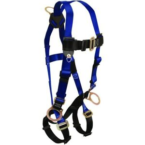 Falltech 3 D ring Contractor Fall Protection Body Harness Universal Fits Most
