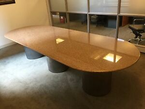 Office Furniture granite Top Conference Table Chairs Trading Desks And Chairs