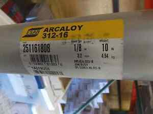 Esab Arcaloy 312 16 Stainless Electrodes 1 8 251161808 10 Can