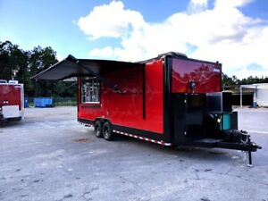 24 Foot Catering Food Trailer Perfect For Vending