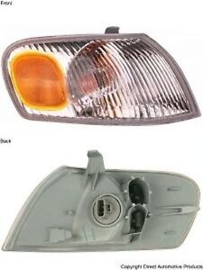 New Right Corner Light Turn Signal Lamp Fits 1998 2000 Toyota Corolla Passenger